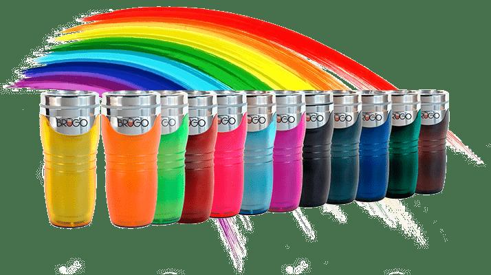 Цветные термокружки